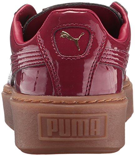 PUMA Women's Basket Platform Patent Wn Sneaker - Choose Choose Choose SZ color 051e15