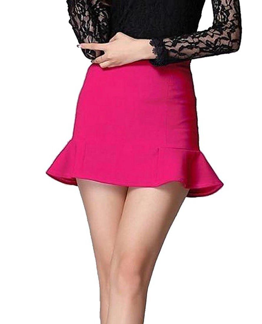 Women's Short Skirt-DCLF0