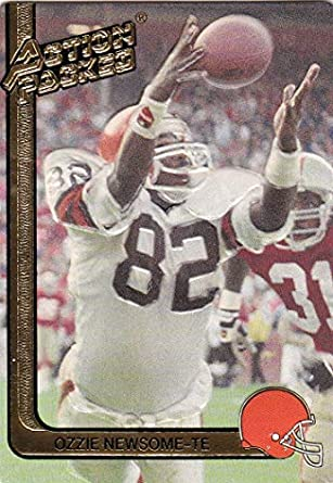 sale retailer 39452 d549f Amazon.com: 1991 Action Packed with Rookie Update Cleveland ...