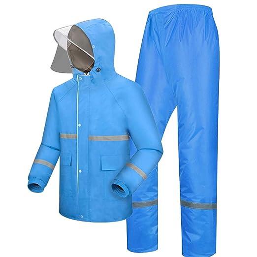 Traje de lluvia impermeable grande (conjunto de chaqueta y ...