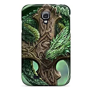 Defender Case With Nice Appearance (nature Dragon) For Galaxy S4