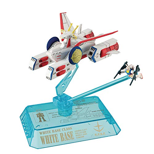 Cosmo Fleet Collection: Mobile Suit Gundam Efsf Pegasus Class Assault Craft Mini Figure