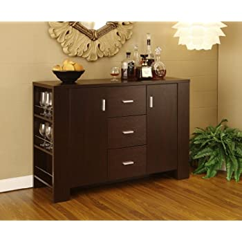 dining room server sideboard buffet. Black Bedroom Furniture Sets. Home Design Ideas