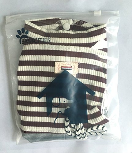 Pictures of EastCities Dog ClothesSmall Dogs Pajamas Puppy OutfitBrown 2