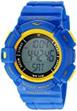 Everlast 'Heart Rate Monitor' Automatic Plastic and Rubber Fitness Watch, Color:Blue (Model: EVWHR004NB)