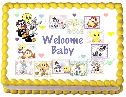 baby-looney-tunes-edible-frosting-sheet-cake-topper-1-4-sheet