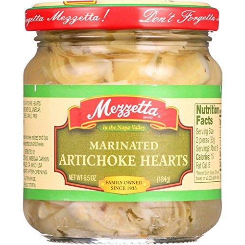 Mezzetta Artichoke Hearts - Marinated - Imported - 6.5 oz - case of 12 ()