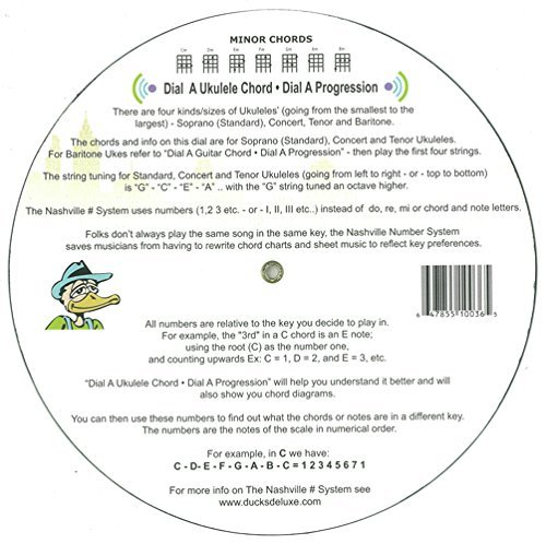 Amazon The Ukulele Chord Wheel Musical Instruments