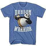 Kung Fu Panda Movies D-Warrior Adult Short Sleeve T Shirt