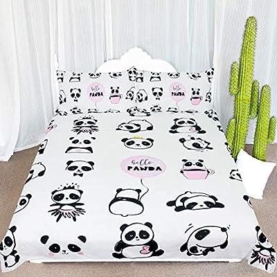 ARIGHTEX Panda Bear Animals Bedding Duvet Cover Sets by Kingtex