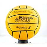 Western Star Water Polo Competition Size 2 3 4 5 Match Men Women Youth Intermediate High School Ball Perfect Grip Professional Series