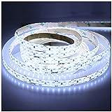 LEDENET 16.4FT Cold White LED Strip Light 2835 12V SMD 660LEDs Flexible Ribbon Lamp Waterproof IP65