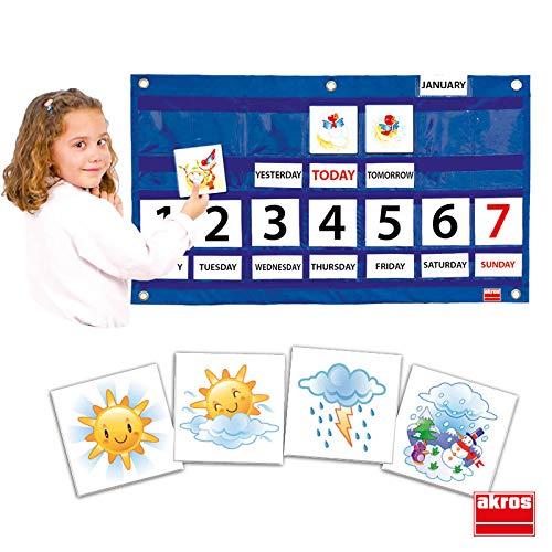 Akros 39000b Calendar Learning Games AKROS INTERDIDAK SL AKROS_39000B