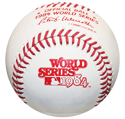 Rawlings 1984 World Series Official MLB Game Baseball - Detroit Tigers Detroit Tigers World Series