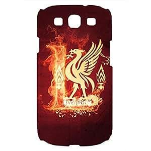 Custom Design FC Liverpool FC Phone Case Cover For Samsung Galaxy S3 3D Plastic Phone Case