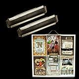 2 Trays Printer - Artist Tray Label Holders 2X.5 4/Pkg