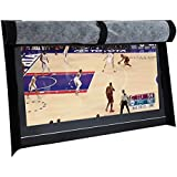 "BroilPro Accessories Outdoor 55"" TV Set Cover,Scratch Resistant Liner Protect LED Screen Best-Compatible with Standard Mounts and Stands (Black)"