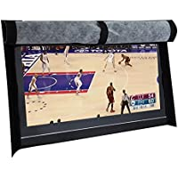 BroilPro Accessories Outdoor 55 TV Set Cover,Scratch Resistant Liner Protect LED Screen Best-Compatible with Standard Mounts and Stands (Black)