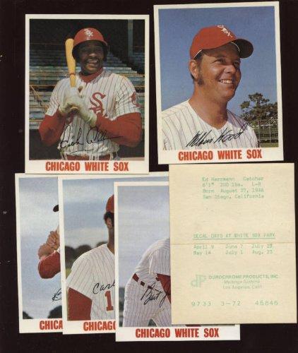 - 1972-74 Chicago White Sox Decals 6 Different NRMT