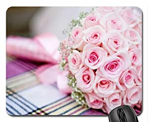 Amazing bouquet of roses Mouse Pad, Mousepad (Flowers Mouse Pad)