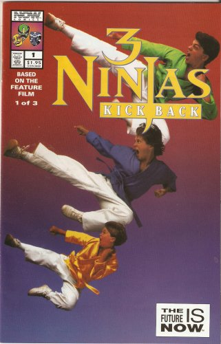 3 Ninjas Kick Back #1 June 1994
