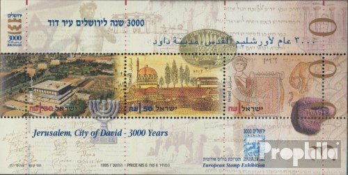 Israel block51 (Complete.Issue.) 1995 Stamp Exhibition (Stamps for Collectors)