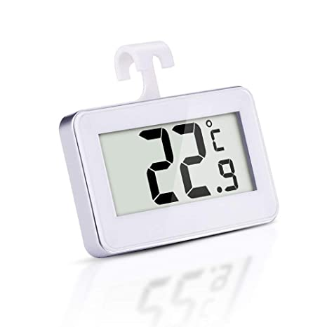 Termómetro digital inalámbrico para nevera con monitor de ...