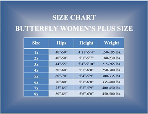 East india and pantyhose size chart