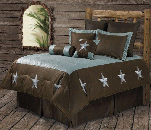 Dallas Cowboys 2 Piece Skirt - Blue Western Star 6 Piece Comforter Set Super King