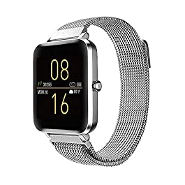 Tinwoo Smart Watches 2020 Ver. for Women Men, All-Day Activity Fitness Tracker Bluetooth, for iOS, Android Phone, with…