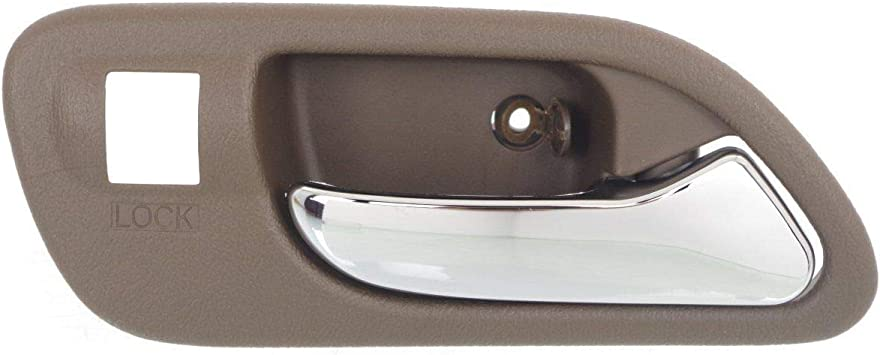 NEW Front LEFT Driver Side Outside Door Handle CHROME for 01-06 ACURA MDX