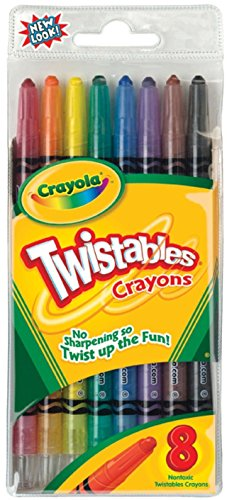 Crayola Twistable Crayons 8 In A Pack (Pack of 6) 48 Crayons -