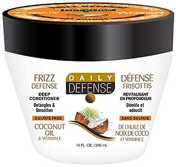 Acondicionador profundo de coco y vitamina E de Daily Defense Advanced 295 ml: Amazon.es: Belleza