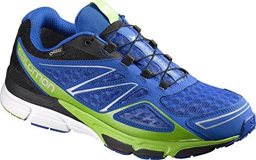 Salomon L38311100, Zapatillas de Trail Running para Hombre Azul