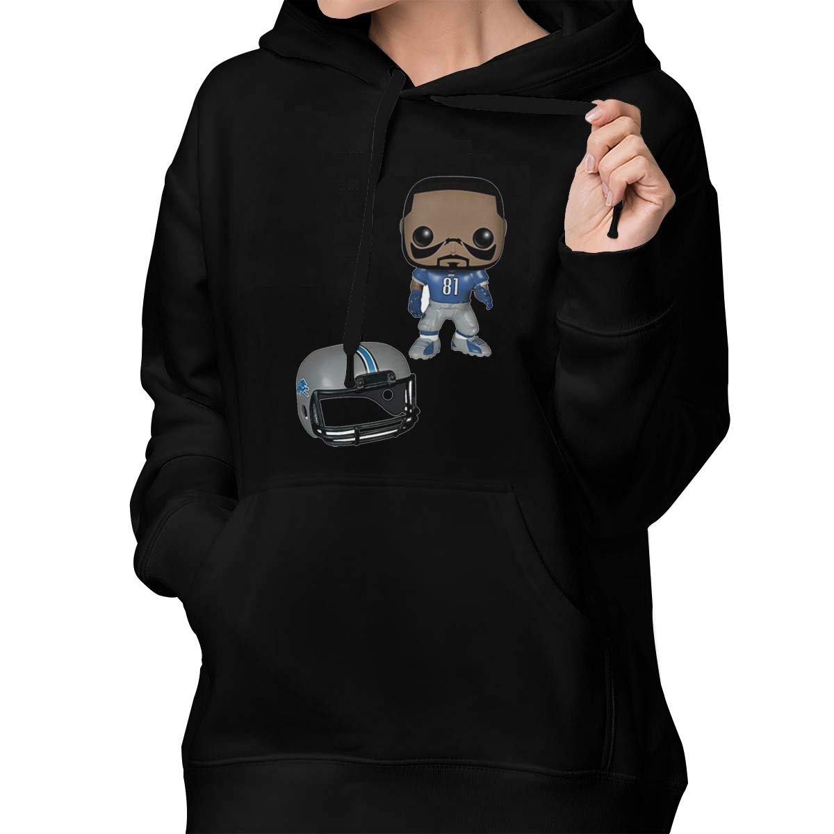 save off 6ae01 74b50 Amazon.com: Women's Drew-Brees -NFL Fashion Hooded ...