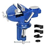 Universal 3 Inch Table Vise, 360° Rotating Swivel