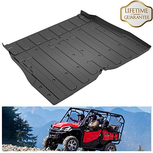 - KIWI MASTER Cargo Liner Mat Compatible for 2016-2018 Honda Pioneer SXS 1000 M5 (5 Seater) All Weather Protector Slush Liner Bed Mat Black