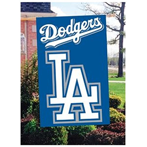 Official Major League Baseball Fan Shop Authentic MLB Team Sports Man Cave Flag - Banner (Los Angeles Dodgers)