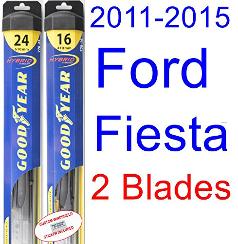 how to change wiper blades on 2011 ford fiesta