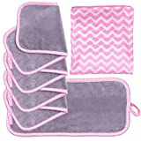 Set Of 5 FreshFace Makeup Remover Cloths by Campanelli (5pc, Chevron)