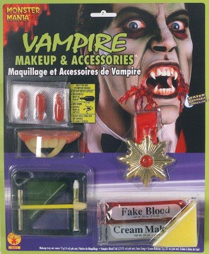 Rubie's 19201 Vampire Make Up & Accessories Kit