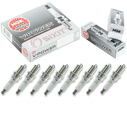 NGK V-Power 8pcs Spark Plugs Land Rover Discovery 00-02 4.0L V8 Kit Set Tune