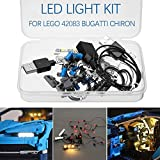 LED Light Lighting Kit DIY Luminous Building Blocks For Lego 42083 Bugatti Chiron Technic Set