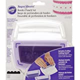 Wilton Sugar Sheets Border Punch Set