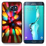 hars camera case - Queen Pattern - FOR Samsung Galaxy S6 Edge Plus - Rainbow Camera Flare - Impact Case Cover with Art Pattern Designs