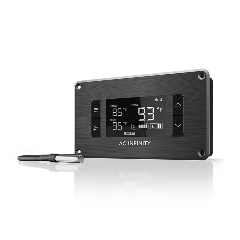 AC Infinity Controller 2, Fan Thermostat and Speed Controller, Controls AIRPLATE, MULTIFAN, USB Fans and Devices, for AV Cabinet Cooling by AC Infinity
