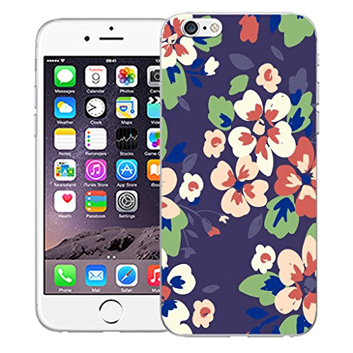 "Mobile Case Mate iPhone 6S Plus 5.5"" Silicone Coque couverture case cover Pare-chocs + STYLET - Blossom pattern (SILICON)"