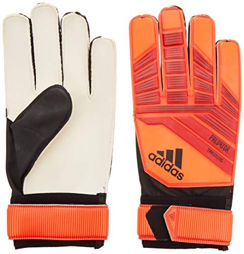 adidas Predatorator Top Training Goalkeeper Gloves, Active Red/Black/Solar Red, Size 4 (Predator Keeper Gloves)