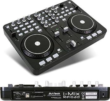 Amazon.com: DJ TECH imixreloadblack driver USB/MIDI DJ ...