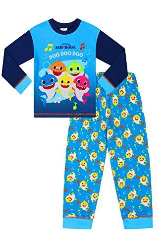 Pink fong Jongens Baby Shark Blauw Pyjama